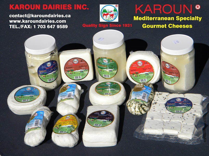 Mediterranean Specialty Gourmet Cheeses
